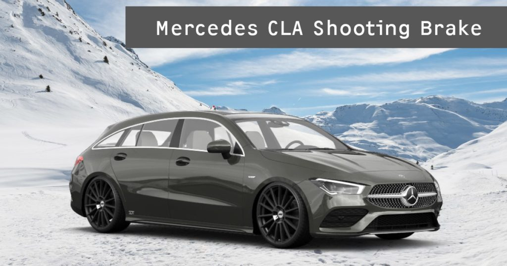 Mercedes CLA Shooting Break