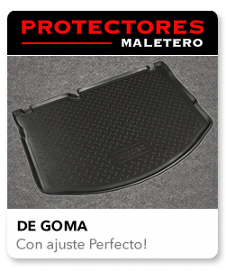 Protectores maletero de goma
