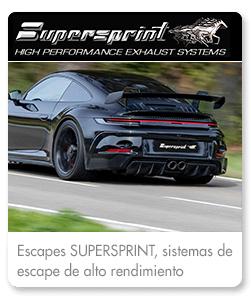 Escapes de alto rendimiento Supersprint